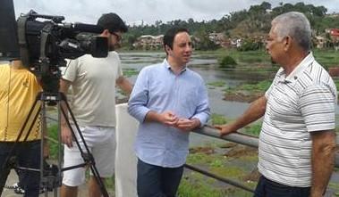 O jornalista esportivo, Pedro quis saber sobre  a história e as dificuldades enfrentadas