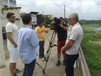 O Jornalista Humberto Hugo falou sobre à fundação da Canoagem em Ubaitaba