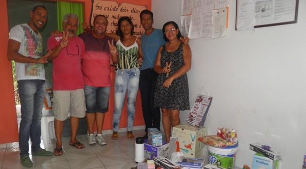 Os Secretários municipais, Celidalvo, Janio Cesar, Wadson. Liana e Alexandrino  felicitaram os trabalhadores pelo o seu Dia