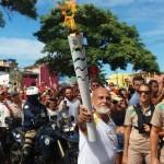 EVENTOS CULTURAIS  E DESFILE CÍVICOS  MARCARAM PASSAGEM DA TOCHA OLÍMPICA POR ITACARÉ