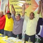 UBAITABA: LANÇAMENTO  DA PRÉ- CANDIDATURA DE JAÍLTON   REUNIU IMPORTANTES LIDERANÇAS POLITICAS
