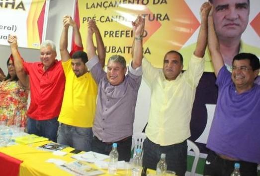 Diversas lideranças políticas participaram do evento