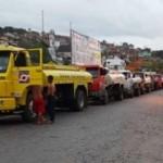 EMBASA DE ITABUNA MUDA CAPTAÇÃO DE ÁGUA EM CARROS -PIPAS DE UBAITABA PARA TRAVESSÃO