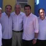 UBAITABA: PRÉ- CANDIDATO A PREFEITO JAILTON ARAUJO PARTICIPOU AO LADO DE DEPUTADOS DA VISITA DO GOVERNADOR