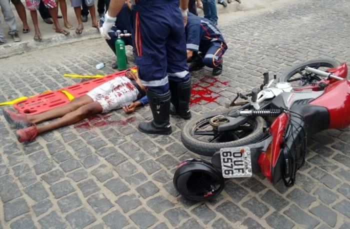 Hélio Ribeiro Batista Santos, 33 anos, trabalhava em um ponto de mototaxi
