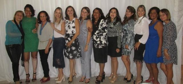 As senhoras da Casa Amizade  do Rotary Club  de Ubaitaba