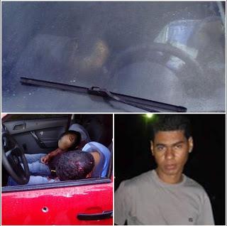O empresário, proprietário de posto de combustível Jeone Jesus de Morais, 37 anos, e seu sobrinho Gedson Morais Santos, 26, foram mortos dentro de um veículo,