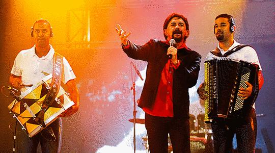 O Show de Ademário Coelho atraiu centenas de pessoas