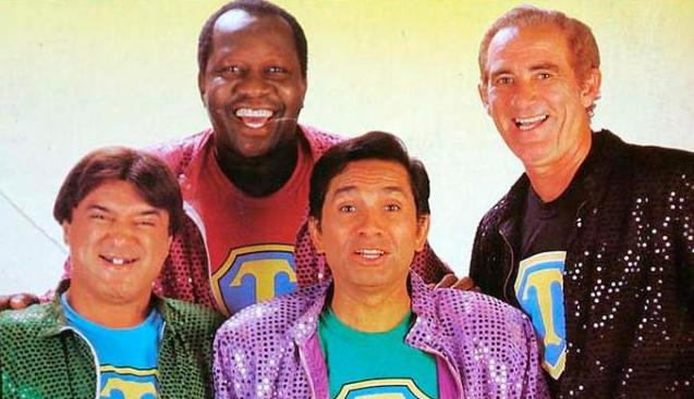 Zacarias, Mussum, Dedé e Didi animavam as noites de domingo por mais de 20 anos