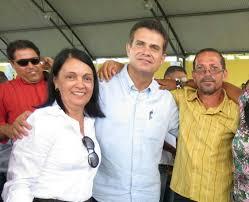 Gracinha Viana vem mostrando prestigio junto as autoridades governistas