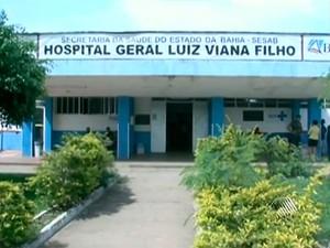 O  homem foi lrvado  para o Hospital Geral Luís Viana Filho, em Ilhéus