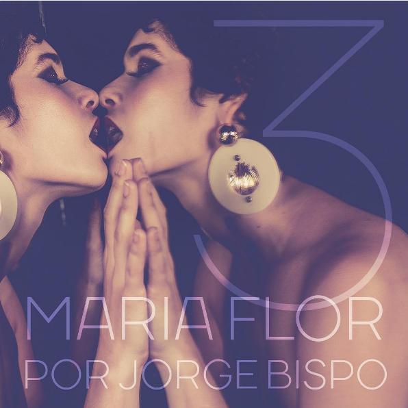 Maria Flor posa sensual para o fotógrafo Jorge Bispo (Foto: Reprodução/Instagram