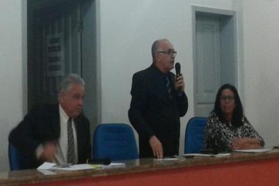 O vereador  Catarino era um critico ferrenho do atual governo
