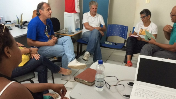 Foram acompanhados e recebidos pela prefeitura municipal, através de representantes da secretaria de turismo e lazer, da secretaria de educação e da associação dos empresários de Barra Grande.