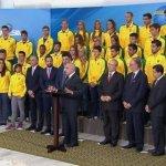 UBAITABA: ISAQUIAS ESTÁ ENTRE OS MEDALHISTAS OLÍMPICOS  QUE SERÃO  RECEBIDOS PELO PRESIDENTE MICHEL TEMMER