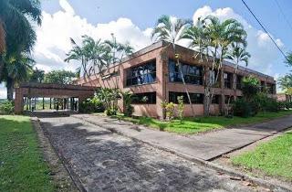 o campus Jorge Amado, da Universidade Federal do Sul da Bahia, localizado em Ferradas,