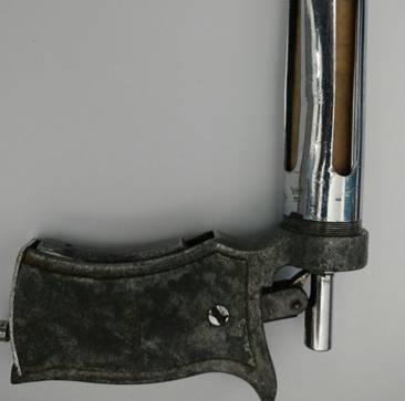 A seringa era usada como arma de fogo