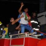 UBAITABA: ATLETA DA CANOAGEM QUE FATUROU TRÊS MEDEALHAS FOI RECEBIDO COM FESTA E DESFILOU EM CARRO ABERTO