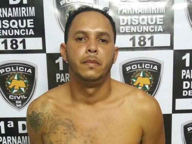 Daniel foi preso nesta terça (2), em Parnamirim  (Foto: Degepol/Divulgação)