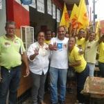 UBAITABA: CANDIDATA DO PSB VISITA FEIRA LIVRE NO CENTRO DA CIDADE