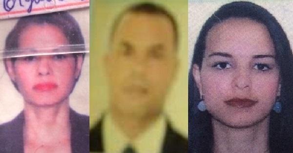 Luciene Pereira Lima, de 47 anos, natural de Medeiros Neto, a filha dela que dirigia o carro, Gislane Lima Giovanella, 23, Valdine Silva dos Santos e um garoto, provavelmente neto de Luciene, que não teve o nome levantado. Todos morreram no local.