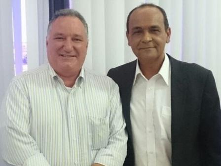 A candidatura de Paulo Bidú tem o apoio do deputado, Carletto