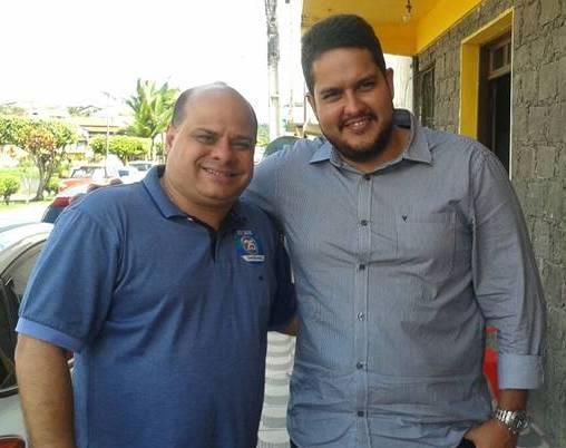 O assessor de ACM Neto, Péricles,  foi o cicerone de Antonio Lins na região