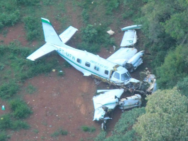 A policia está realizando buscas da aeronave (foto ilustrativa)