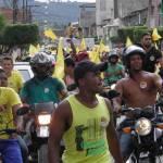 CAMINHADA DA CANDIDATA SUKA  REÚNE CENTENAS DE PESSOAS NO CENTRO DE UBAITABA