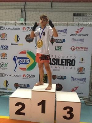 Zilter Junior foi Campeão na categoria 50 Kg-12 anos