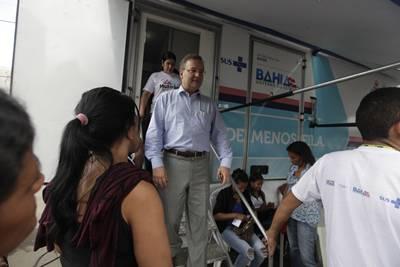 O governo veio lançar o Programa em Ipiaú