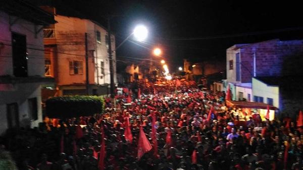 Milhares  de pessoas marcaram presença no evento