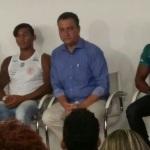 GOVERNADOR RECEBE ATLETAS OLÍMPICOS E PROMETE CONSTRUÇÃO DE CLUBES PARA CANOAGEM
