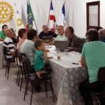 ROTARY DE UBAITABA RECEBE ASSITENTE DO GOVERNADOR PARA REUNIÃO DE SERVIÇO