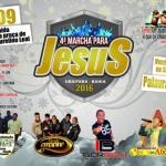 UBAITABA:  IV MARCHA PARA JESUS DEVE REUNIR MILHARES DE PESSOAS NESTE SÁBADO  (24)