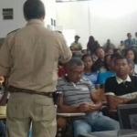 MARAÚ:  POLÍCIA MILITAR  REALIZA PALESTRA DE PREVENÇÃO AS DROGAS NO COLÉGIO ANTENOR LEMOS