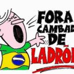 PUBLICITÁRIO CRIA SLOGAN FORA LADRÃO, PARA COMBATER FORA TEMMER