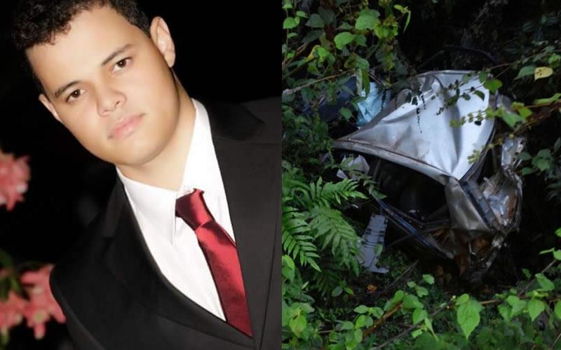 O jovem advogado João Paulo Martins Batista, retornava para Teixeira de Freitas quando teria perdido a direção do Corolla