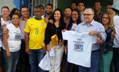 O secretário estadual Josias Gomes  entrou na Campanha