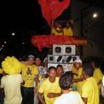 UBAITABA: MILITANTES VITORIOSOS FAZEM ENTERRO SIMBÓLICO DO GRUPO VERMELHO
