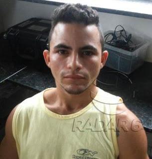 Bruno Rodrigues Ferreira Amorim, 23 anos, foi detido dentro de um ônibus que seguia com destino a Maceió