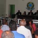 AUDIÊNCIA PÚBLICA  DISCUTIU VIOLÊNCIA NO MUNICÍPIO DE AURELINO LEAL NESTA SEGUNDA-FEIRA 31