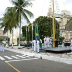 SALVADOR: DIA DA BANDEIRA É COMEMORADO NO COMANDO DO  2º  DISTRITO NAVAL