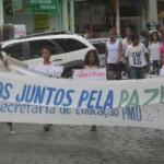 UBAITABA: ESTUDANTES REALIZARAM CAMINHADA PELA PAZ NESTE SÁBADO (19)