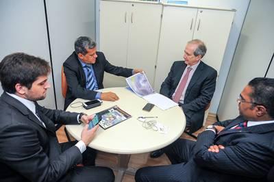 Raimundinho apresenta o Projeto às lideranças políticas em Brasilia