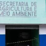 UBAITABA: DIRETORIA DE AGRICULTURA E MEIO AMBIENTE FOI ARROMBADA, POLICIA INVESTIGA