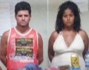 Cláudio da Silva Canzian, 39 anos e no banco do passageiro, Maiana Regina dos Santos Ferreira, 22 anos,