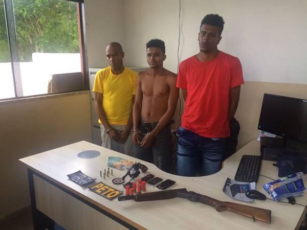 Edcarlos Silva Ferreira, 41 anos, (Bico e os dois assaltantes dos Correios