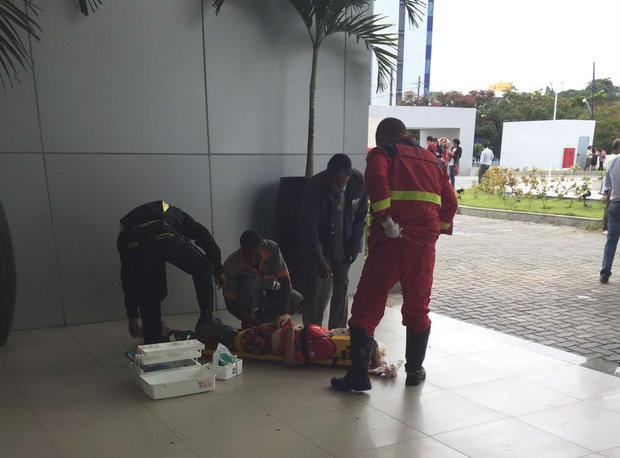 As duas vítimas foram socorridas para o Hospital Geral do Estado (HGE) e Hospital São Rafael.