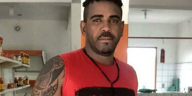 Demônio  foi assassinado com cinco tiros (Foto:ubaitaba.com)